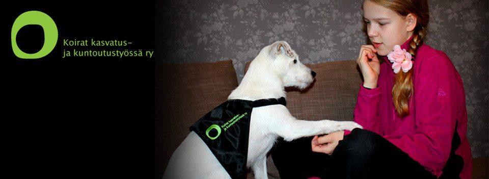 Koirat kasvatus- ja kuntoutustyössä