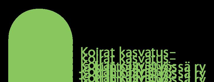 Koirat Kasvatus- ja Kuntoutustyössä Ry logo